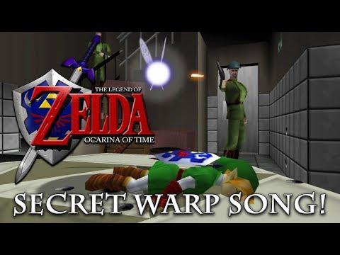 The Legend of Zelda  Ocarina of Time  Secret Warp Song!