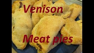 Wild Game Meat Pies Made With Venison