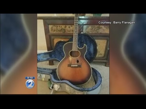 Local musician grateful for return of prized guitar