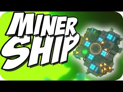 MINING GREEN ORE and FULL AUTO ROCKETS! ► Nimbatus Gameplay