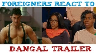 People React to Dangal Official Trailer Amazing 10 Reactions HD