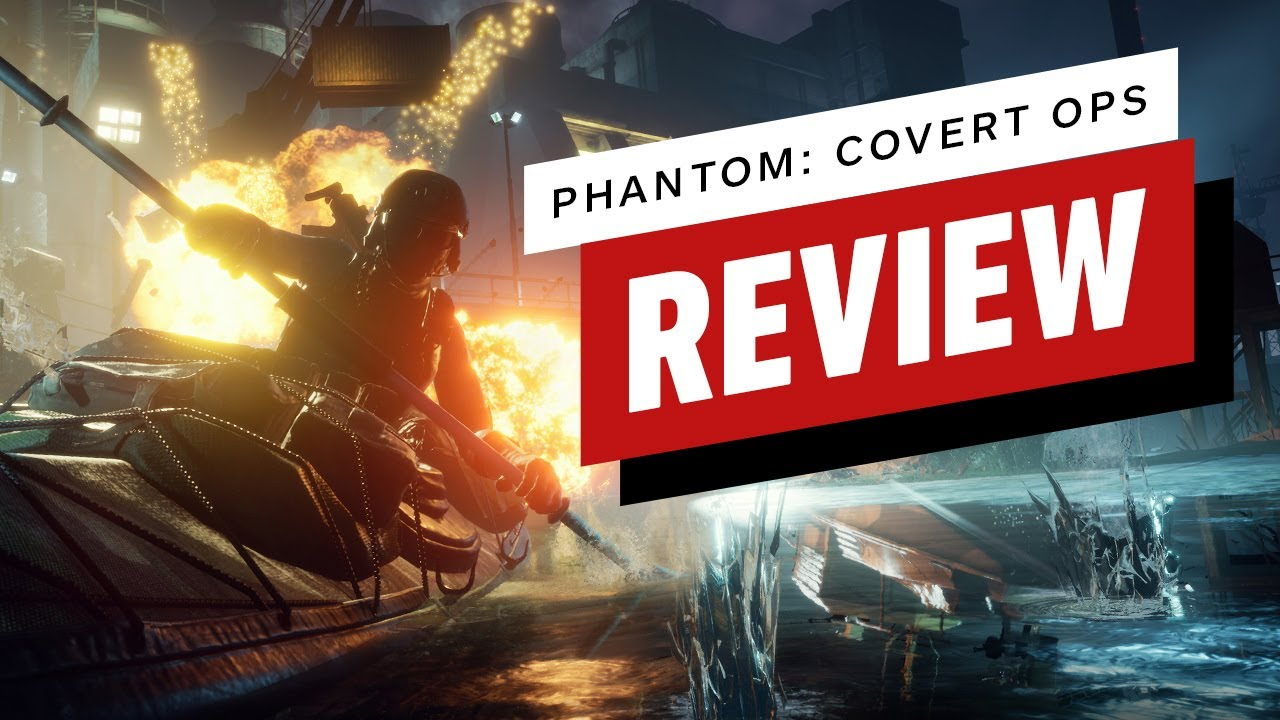 Phantom: Covert Ops Review (Video Game Video Review)