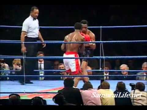 Nigel Benn vs Chris Eubank 1:  WBO Middleweight world title 1990
