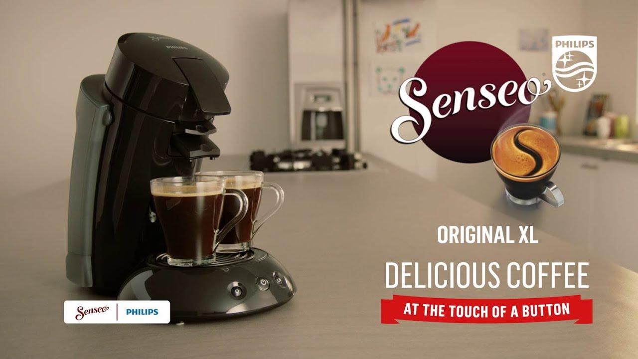 Discover Senseo Original Xl The Nr1 Sold Coffee Machine With Xl Water Tank Black Philips