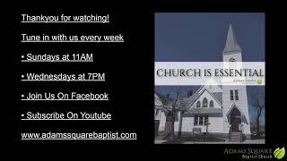 Sunday Morning Service - 4/18/21