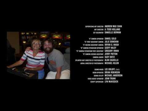 Creditos Finales De La Pelicula Resacón En Las Vegas Youtube