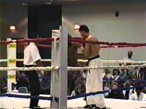 K.I.C.K. World Cruiserweight Championship, 10/22/94. rounds 11 and 12.  Singleton vs. Hudson