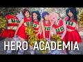 Hero Academia Cheerleaders