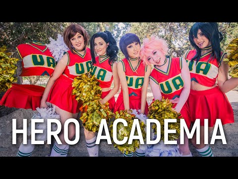 Hero Academia Cheerleaders By Stella Chuu