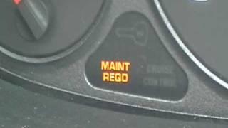 Acura Integra MAINT REQD light reset  GS  GSR   LS