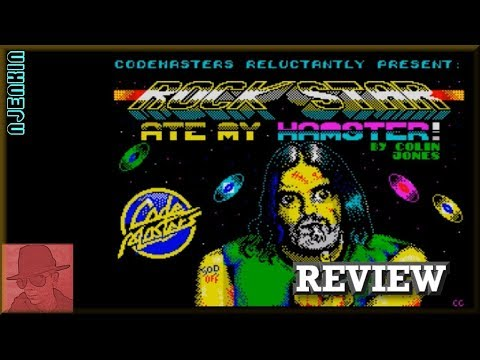 Rockstar ate my Hamster - on the ZX Spectrum 48K !! with Commentary