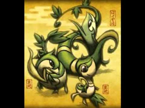 Pokemon Serperior And Samurott And Emboar Serperior,Emboar and S...