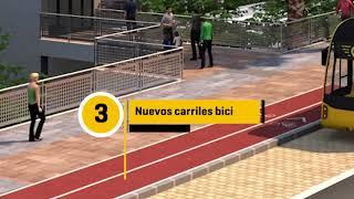 La MetroGuagua transforma la calle Blas Cabrera Felipe