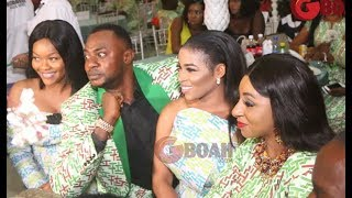 Dele Odule Open the show as Lola Idije Storms in Looking glamorous at Odunlade graduation ceremony