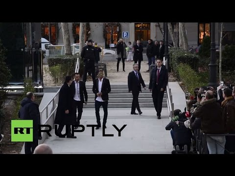 Spain: Neymar appears in court over Barcelona transfer