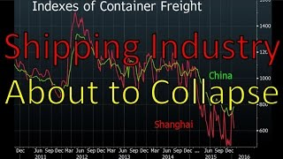 International Shipping Industry About to Collapse