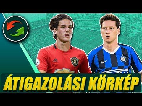 A Man. Utd 60 M.€-t fizetne Zaniolóért? Draxler az Interben?