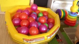 Сухой бассейн в домашних условиях