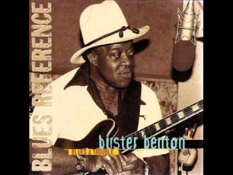 Buster Benton -- Blues & Trouble (1985)