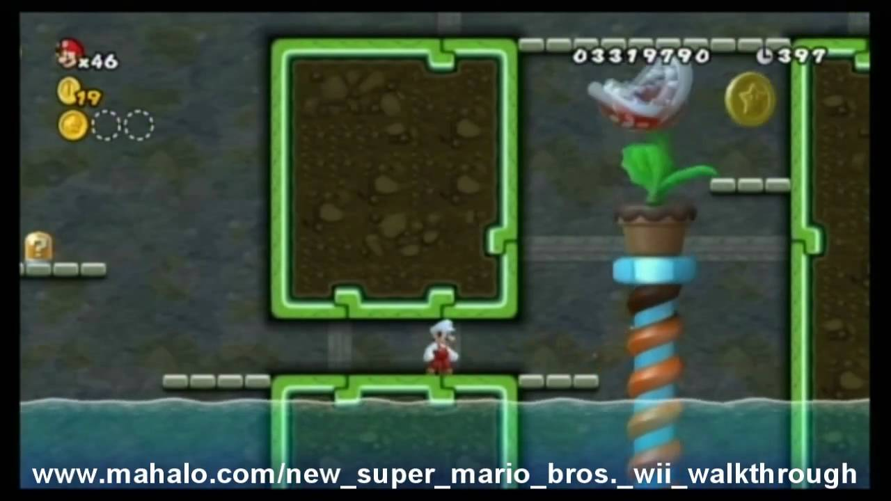 New Super Mario Bros Wii Walkthrough World 6 3 Youtube
