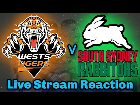 Wests Tigers V South Sydney Rabbitohs Nrl Round 18 Live Stream Play By Play Analysis Youtube