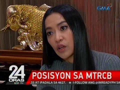 MTRCB Board Member Mocha Uson, gustong ipatigil ang kalaswaan daw sa mga teleserye