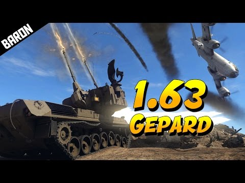 NEW Gepard DESTROYS Planes & Tanks - War Thunder 1.63 Gameplay