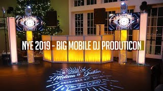 DJ GIG LOG: BIGGEST PRODUCTION EVER! | CRAZY NYE 2019 PARTY (We got in BIG Trouble!)