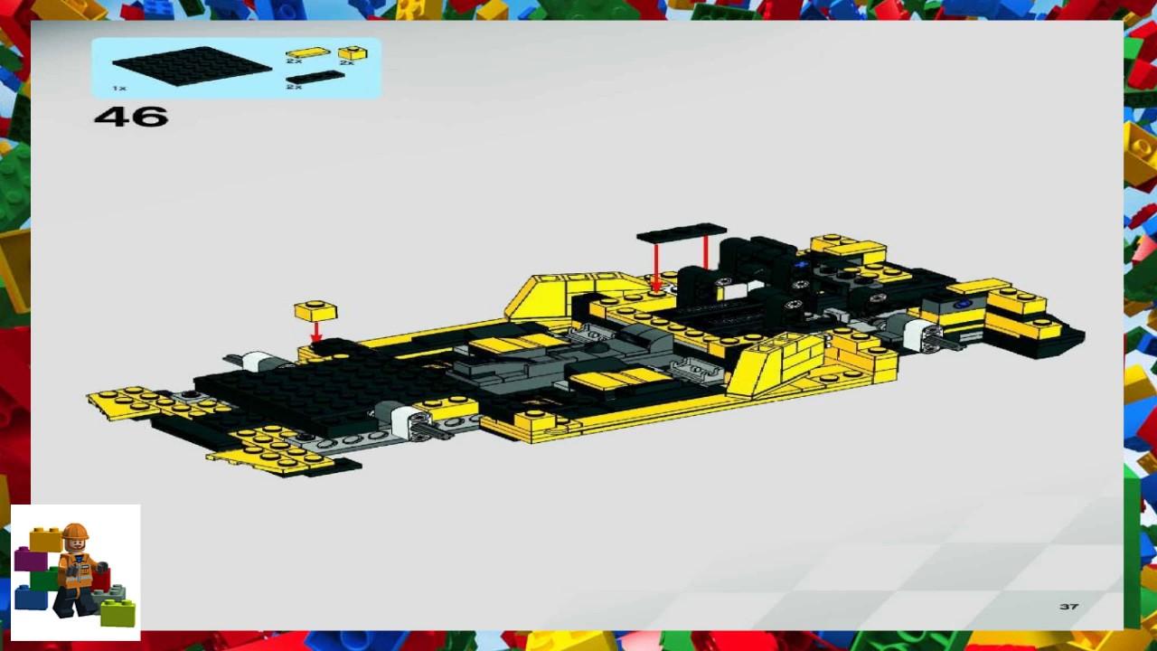 Lego lamborghini gallardo instructions 8169, racers.