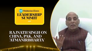 Rajnath Singh on 26/11, Pakistan terror, China & 'atmanirbharta' #HTLS2020