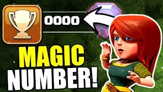 HIT THE MAGICAL NUMBER IN CLASH OF CLANS!