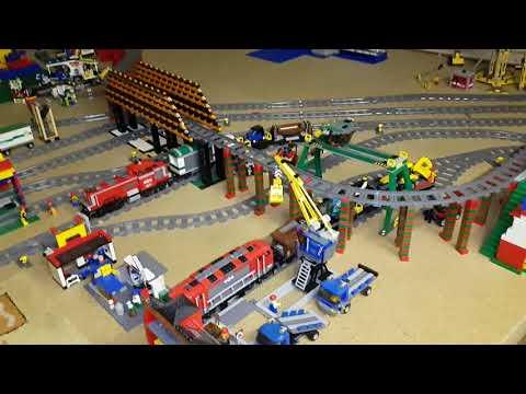 Lego Eisenbahn auf dem Dachboden Teil 3