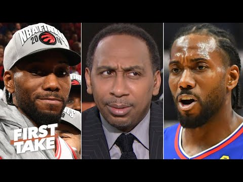 Would Kawhi have a better title shot with the Raptors? Stephen A. Smith says no | First Take