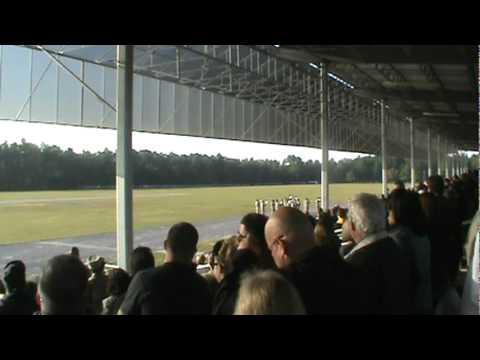 Fort Jackson Graduation Day 11/27/11 Part 2/9: God bless America