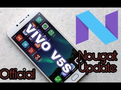 Official Android Nougat OTA Update For Vivo V5s