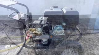 Funzionamento dell'Idropulitrice GeoTech PWP 17/250 ZW con ugello TURBO