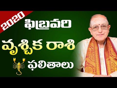 Vruchika Rasi February 2020 | Vruchika Rasi Phalalu | Kameswara Sarma | Sunrise Tv Telugu