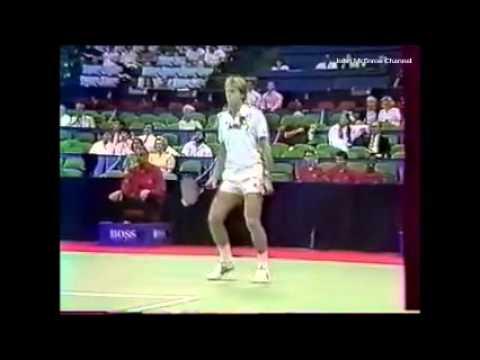 Stefan Edberg vs McEnroe SF - Dallas 1987
