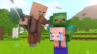 Village Life 1-2  - Minecraft animation