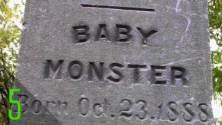 5 Creepiest & Strangest Tombstones