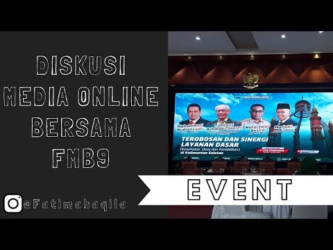 EVENT : DISKUSI MEDIA ONLINE BERSAMA FORUM MEDIA BARAT 9