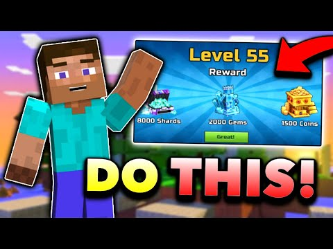 How To LEVEL UP FAST In Pixel Gun 3D! Secret Tricks! (New Update 17.0 Free Coins/Gems)