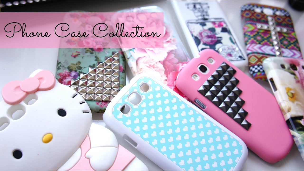 Cute Phone Case Collection (Samsung Galaxy s3) - YouTube