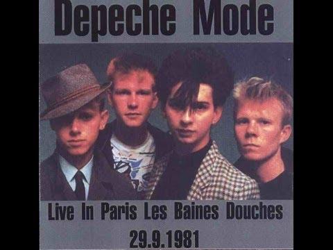 depeche mode live in les bains douche paris. Black Bedroom Furniture Sets. Home Design Ideas