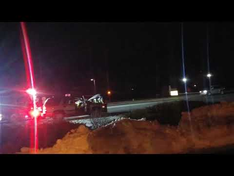 Greeley Co hit and run accident fire fighters almost hurt themselves