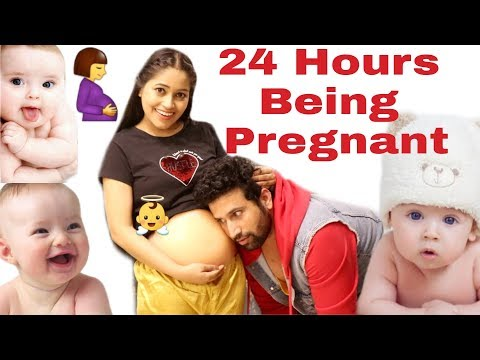 24 Hours Being Pregnant🤰👼माँ बनने का अनमोल अनुभव🤱Be Natural