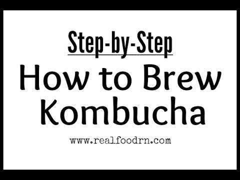 how to make kombucha scoby youtube