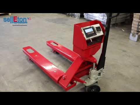 Selleton SL-5000-PJP Industrial Warehouse Pallet Jack Scale With Built In Printer!