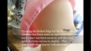 Couture Sculptural/Free-Form Millinery: Part 2 - The Tutorial Thumbnail