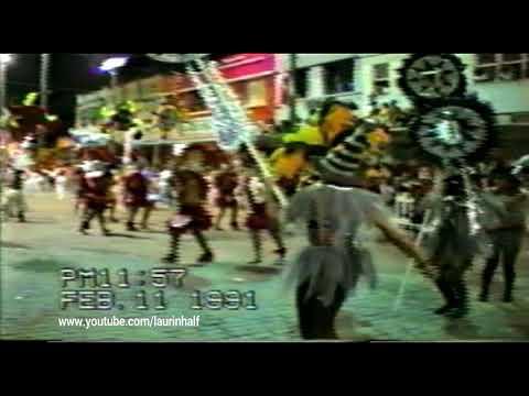 CARNAVAL LAGUNA SANTA CATARINA 1991